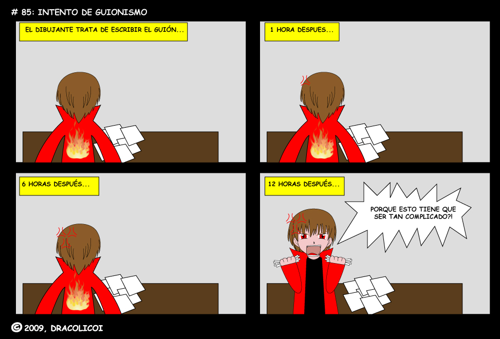 Intento de guionismo