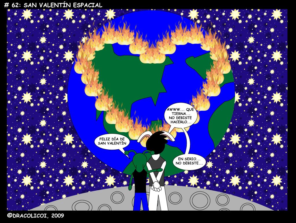 San Valentin Espacial
